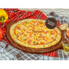 Cheezze Pizza «ВЕТЧИНА против ГРИБОВ»