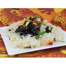 Салат из белых древесных грибов